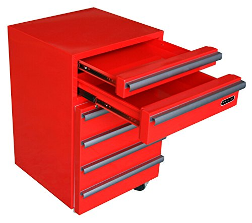 Whynter TBR-182RS Portable Tool Box Refrigerator with 2 Drawers and Lock, 1.8 cu. ft, Red