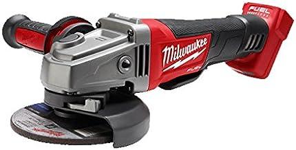 Milwaukee M18CAG-125XPD-0 Amoladora sin escobillas, 18 V, rojo