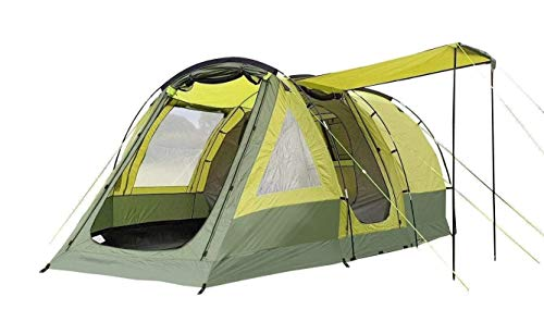 OLPRO Outdoor Leisure Products Abberley XL 4.7m x 3.15m 4 Berth Tunnel Tent Green