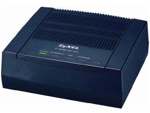 ZyXEL P-660R-F1 ADSL2+ Router - 2 Ports - SlotsFast Ethernet - ADSL2+ - Desktop