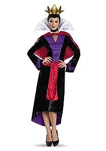 evil queen deluxe adult halloween costume