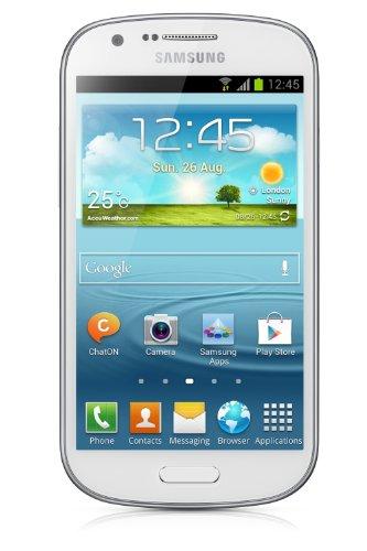Samsung I8730 Galaxy Express Smartphone (11,4 cm (4,5 Zoll) Super AMOLED Touchscreen, Dual-Core, 1,2GHz, 5 Megapixel Kamera, 4GB interner Speicher, Android 4.1) weiß