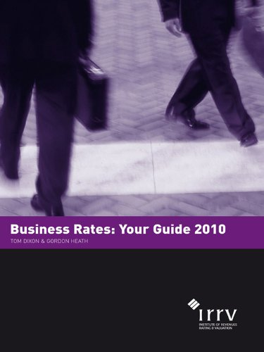Business Rates: Your Guide 2010 (English Edition)