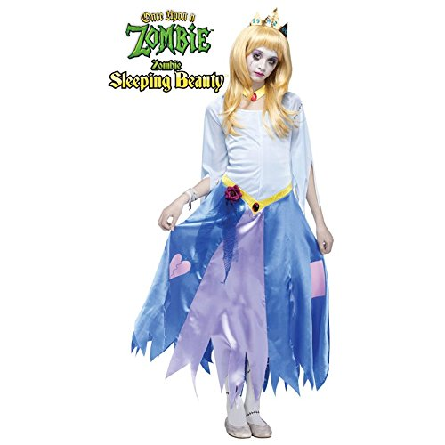 Once Upon a Zombie Sleeping Beauty Child Costume (Medium)