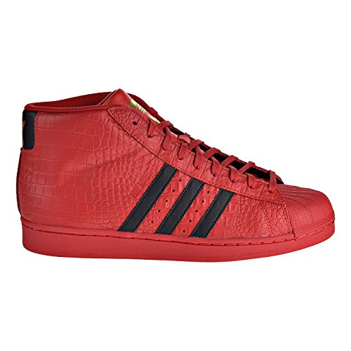 red adidas high tops - 5