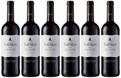 Altos De Tamaron Vino Tinto D.O. Ribera del Duero Joven - 6 Botellas x 750 ml - Total: 4500 ml