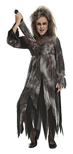 Desconocido My Other Me-204224 Disfraz de demente psicpata para nia, 10-12 aos (Viving Costumes 204224)