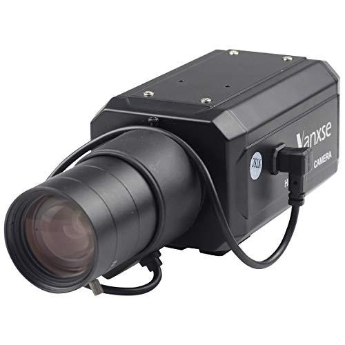 Vanxse CCTV 1/3 CCD HD 960H Auto Iris 1000tvl 6-60mm F1.6 Varifocal Lens Bullet Box Camera Surveillance Security Camera