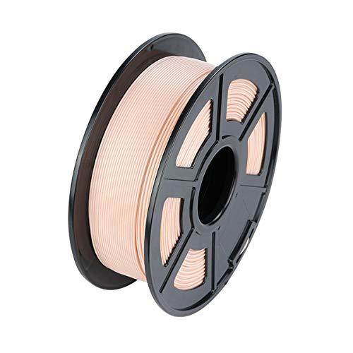 VOMI PLA Filament 1,75 +/- 0,02 mm, Farben Creme/ 1kg Spool (2,2 LBS)/ Verwicklung frei/Vakuumverpackung, 3D Drucker 1,75 mm Filament PLA 3D-Druckerfilament für 3D Drucker/ 3D Stift