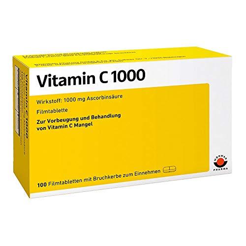 Vitamin C 1000 Wörwag Pharma, 100 St. Filmtabletten