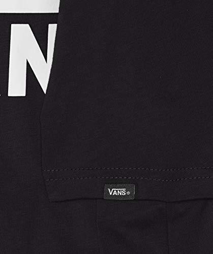 Vans Baby-Jungen Classic Kids T-Shirt, Schwarz (Black White Grey Melange), 5-6 Jahre (Herstellergröße: 5)