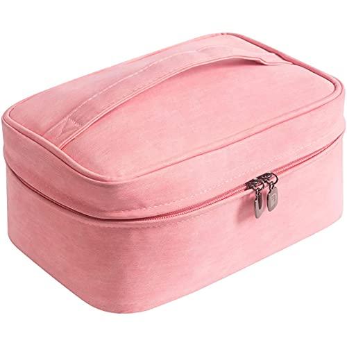 Bolsa cosmética simple, bolsa de almacenamiento de lavado de gran capacidad, bolsa de viaje impermeable, bolso portátil
