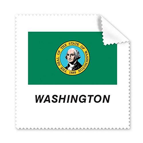Washington-Reinigungstuch, Motiv: amerikanische Staatsflagge, für Handy, Display, Brillen, 5 Stück