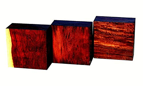Wood) ONE Beautiful Exotic KATALOX Bowl Blank Lathe Lumber Wood 6 X 6 X 3