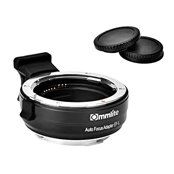 Commlite cm-EF-L AF Lens Adapter for Canon EF/EF-S Lens to L Mount Cameras Lens Converter for Panasonic/S5/ S1/ S1R/ S1H/Leica SL601/ SL2/Sigma FP Cameras