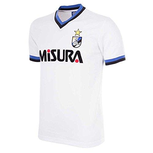 86–87Inter Milan Away–Camiseta deportiva de manga ...
