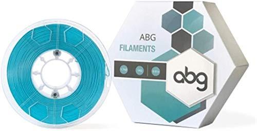 ABG Filament, 1.75mm PLA Filament, 1KG 3D Druck Filament, Symmetrisch Gewickelt, 0.4mm Geeignetes Filament (Türkis)