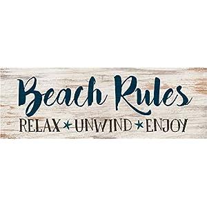 41K+HezQCQL._SS300_ Wooden Beach Signs & Coastal Wood Signs