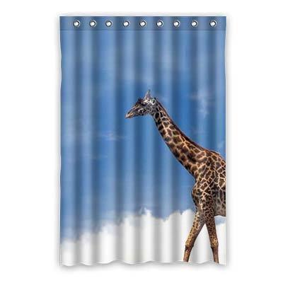 Dalliy Brauch Giraffe Wasserdicht Polyester Shower Curtain Duschvorhang 120cm x 183cm