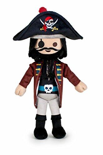 Famosa Softies - Playmobil Peluche 30 cm Capitán Pirata (