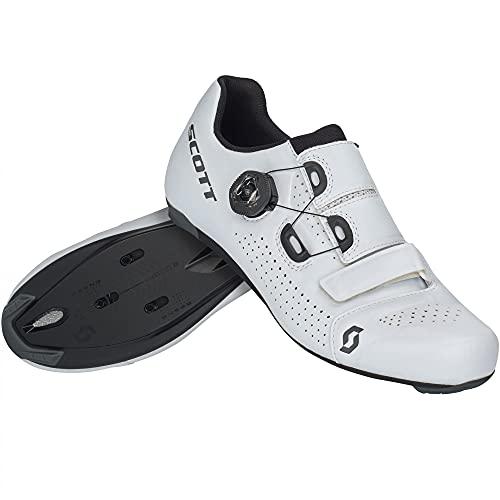 Scott Road Team Boa Rennrad Fahrrad Schuhe weiß/schwarz 2022: Größe: 44