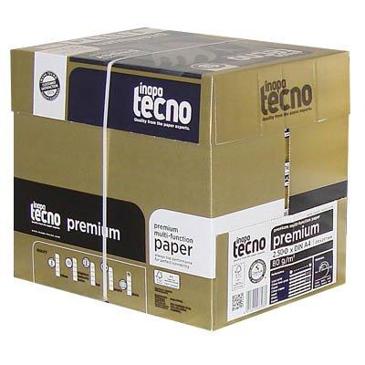 Inapa Tecno–– Box Maxi Copy von hoher Qualität, Papier weiß A480g/m², 2.500Blatt