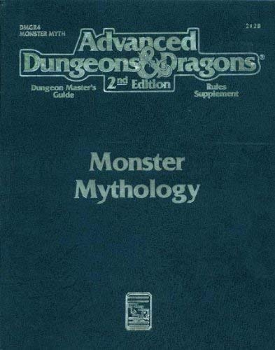 Monster Mythology (Advanced Dungeons & Dragons: Dungeon Master's Guide Rules Supplement/2128/Dm5r4)