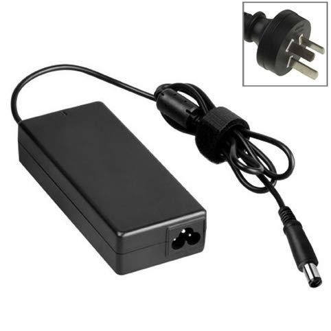MOHAMED AU Plug AD Adaptador de CA 19V 4.74A 90W para HP Compaq Portátil, Consejos de Salida: (4.75 + 4.2) x1.6mm (Color : Black)