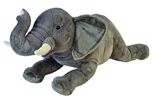 Wild Republic Jumbo Elephant Plush, Giant Stuffed Animal, Plush Toy, 30 Inches
