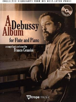 A Debussy Album for Flute and Piano, m. Audio-CD