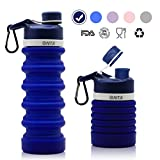 Best Collapsible Water Bottles - ONTA Collapsible Water Bottle- BPA Free Silicone Foldable Review