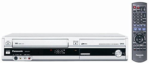 Read About Panasonic DMR-EZ37VS DVD-Recorder/VCR Combo with ATSC Tuner Silver (Renewed)