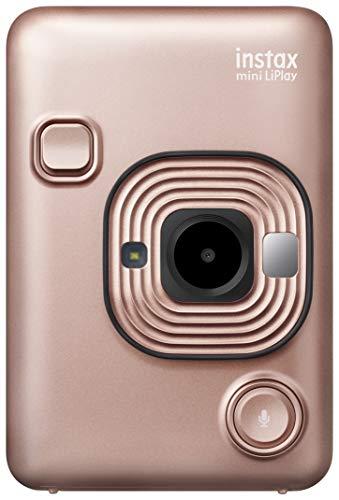 Fujifilm Instax Mini LiPlay Blush Gold Fotocamera Ibrida Istantanea e...