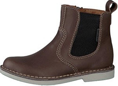 Ricosta Denis Brown Leather Boys Zip Up Chelsea Boots EU 29