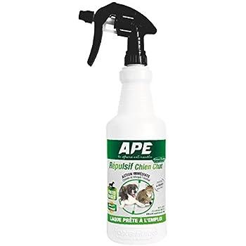 APE - REPULSIF 0181AI Laque Anti-Chiens/Chats Répulsif, Transparent