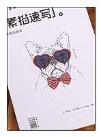 ミックスメディアパッド酸フリーハードカバースケッチブック描画スケッチブックパッド水彩画バレンタインデー-3