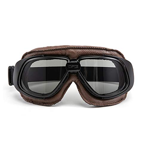 evomosa Occhiali da moto Protezione per gli occhi antivento per Motocross Cruiser Scooter Biker Racer Cruiser Touring Goggle Occhiali da sci (04)