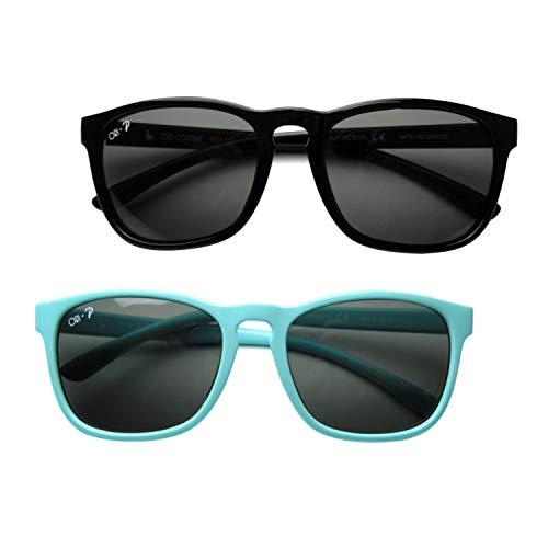 Zerototens Funny Kids Sunglasses Child Sunglasses Anti-Uv Flexible Stretchy Polarized Sunglasses Child Sport Sunglasses Girls Boys Outdoor Goggle Sunglasses 3-12 Years Old