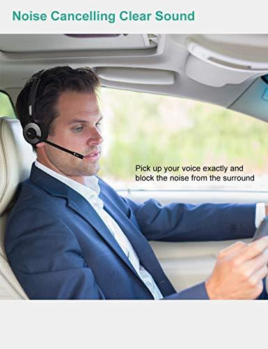 Trucker - Auriculares Bluetooth con micrófono