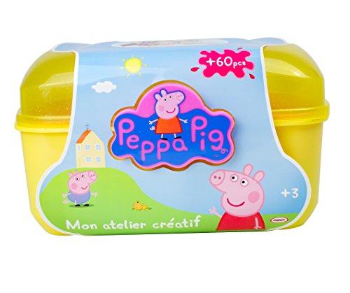 Peppa Pig DARP-CPEP013 - Juego de Accesorios creativos (60 Piezas)