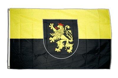 Flaggenfritze Fahne/Flagge Deutschland Pfalz + gratis Sticker