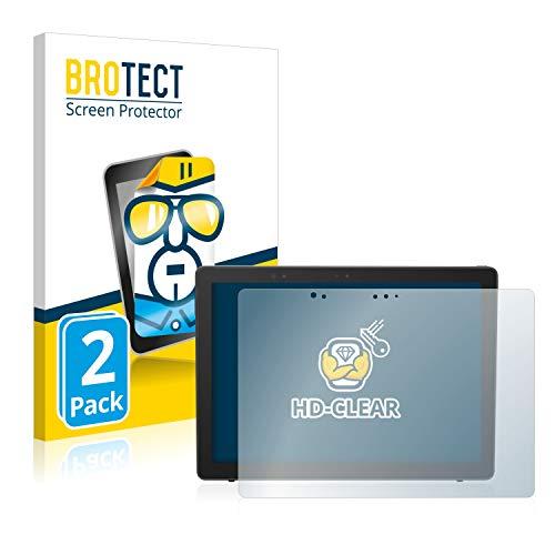 BROTECT Schutzfolie kompatibel mit Dell Latitude 5290 2-in-1 (2 Stück) klare Bildschirmschutz-Folie