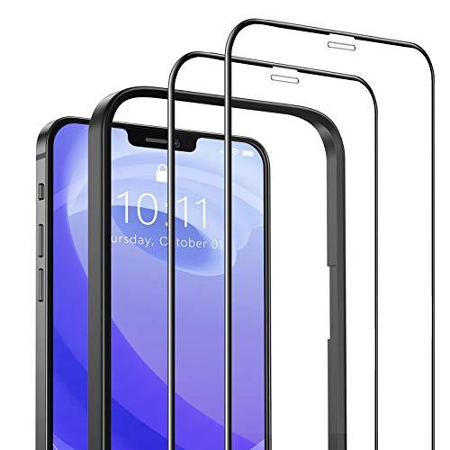 SAEYON [2 Piezas Protector de Pantalla Compatible con iPhone 12 Mini, 3D...