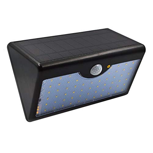GreeSuit Foco solares Luces del jardín 60 led luz Exterior con el Control Remoto