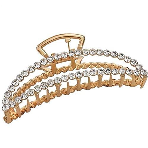 PiniceCore 1pc Perla Clip per Gioielli Ellittiche Crescenti di Grandi Artigli per Eleganti Accessori per