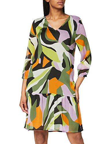 Street One Damen 142740 Tunikakleid Kleid, Pure Violet, 42