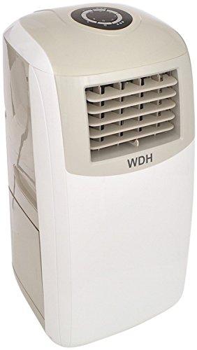 Aktobis Klimagerät WDH-FGA1263B - Kühlen, Entfeuchten und Ventilation - sehr umweltfreundlich [Energieklasse A] (11.500 BTU (R290) + Turbokühlung)