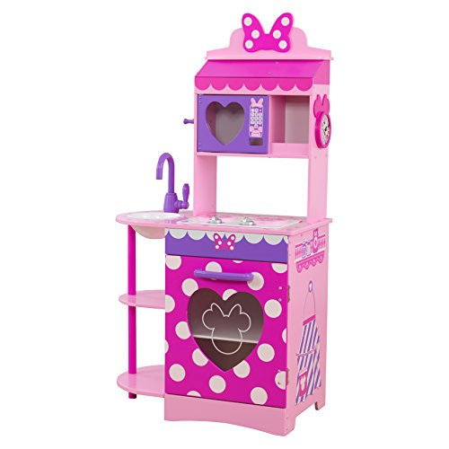 KidKraft Disney Jr. Minnie Mouse Toddler Kitchen Play Kitchen