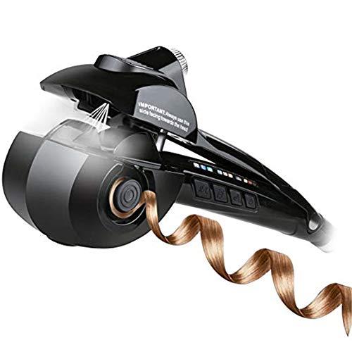 Cristal liquide tout fer à friser automatique, spray bigoudi-céramique poire fleur cheveux perm-pas blesser les cheveux artefact-LCD cheveux coiffeur outil-black
