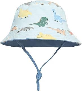 Sombreros de Cubo Para Niños Niñas Ala Ancha Sombreros de Sol UPF 50+ Anti-UV El Verano Gorro de Playa